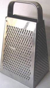 Cheese Grater by Emj