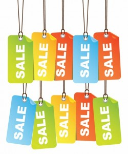 Sale Tags by Benrattray
