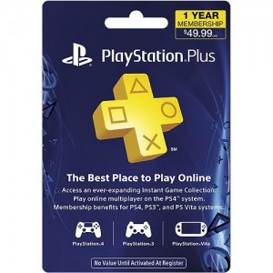 1 Year of PlayStation Plus